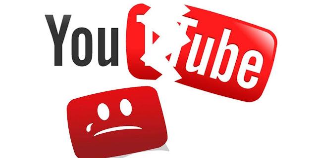 عطل اليوتيوب في جميع انحاء العالم