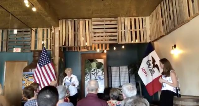 Beto O'Rourke described as 'blank slate' by Iowa Democrat introducing him