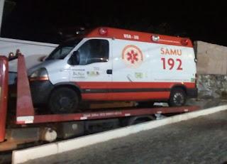 Ambulâncias do Samu de Picuí estão quebradas