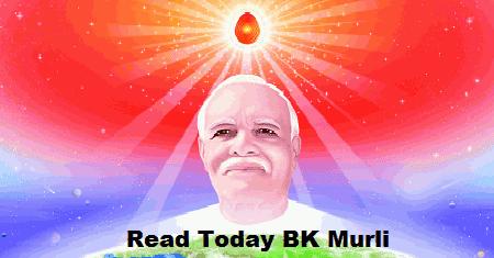 Brahma Kumaris Murli Hindi 24 October 2019