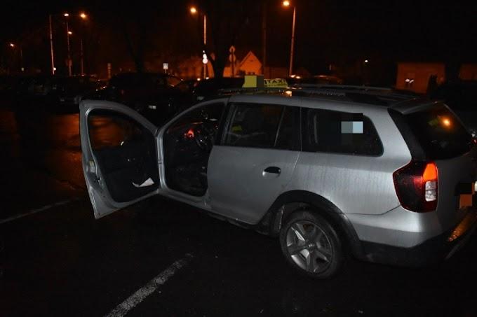 Kiraboltak és bántalmaztak egy taxist Mosonmagyaróváron