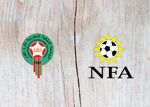 Morocco vs Namibia -Highlights 23 June 2019