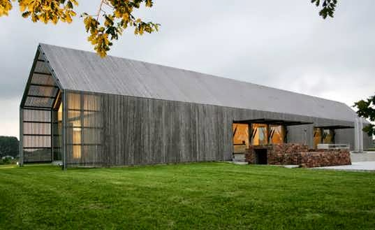 Dubbed The Barn House Design For Obvious Reasons: Modest ...
