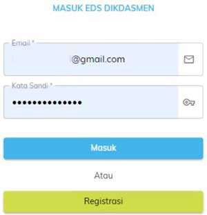 selesai registrasi PMP offline