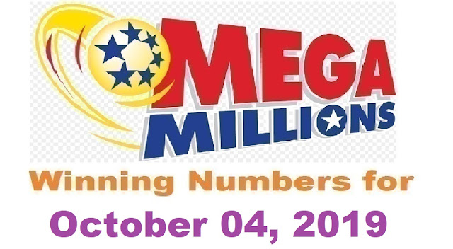 Mega Millions Winning Numbers for Friday, October 04, 2019