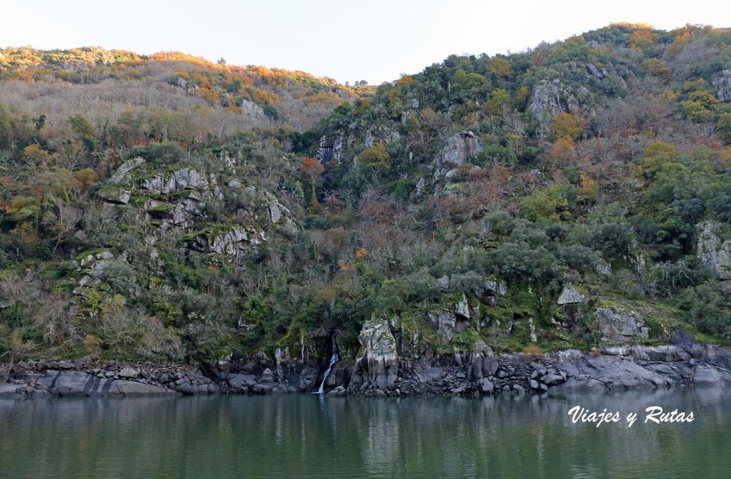 Rocas graníticas del Cañón del Sil