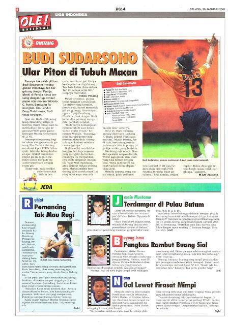 LIGA INDONESIA PROFIL BINTANG BUDI SUDARSONO