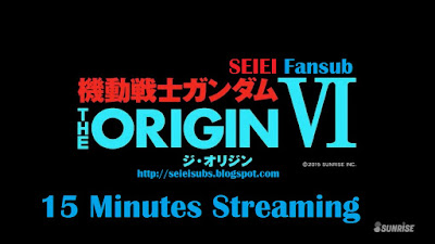 MS Gundam Origin VI - Rise of the Red Comet 15 Minute Stream