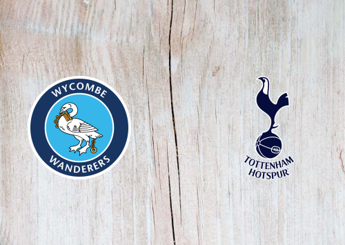 Wycombe Wanderers vs Tottenham Hotspur -Highlights 25 January 2021