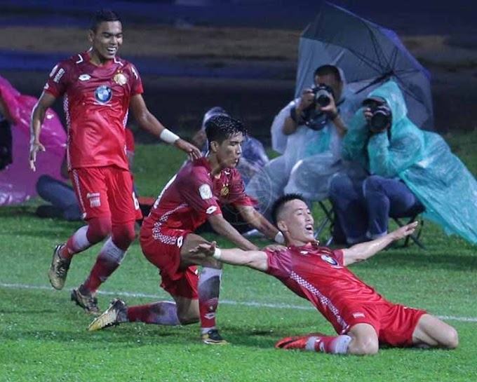 The Red Warriors Menang Tipis Di Kota Bharu