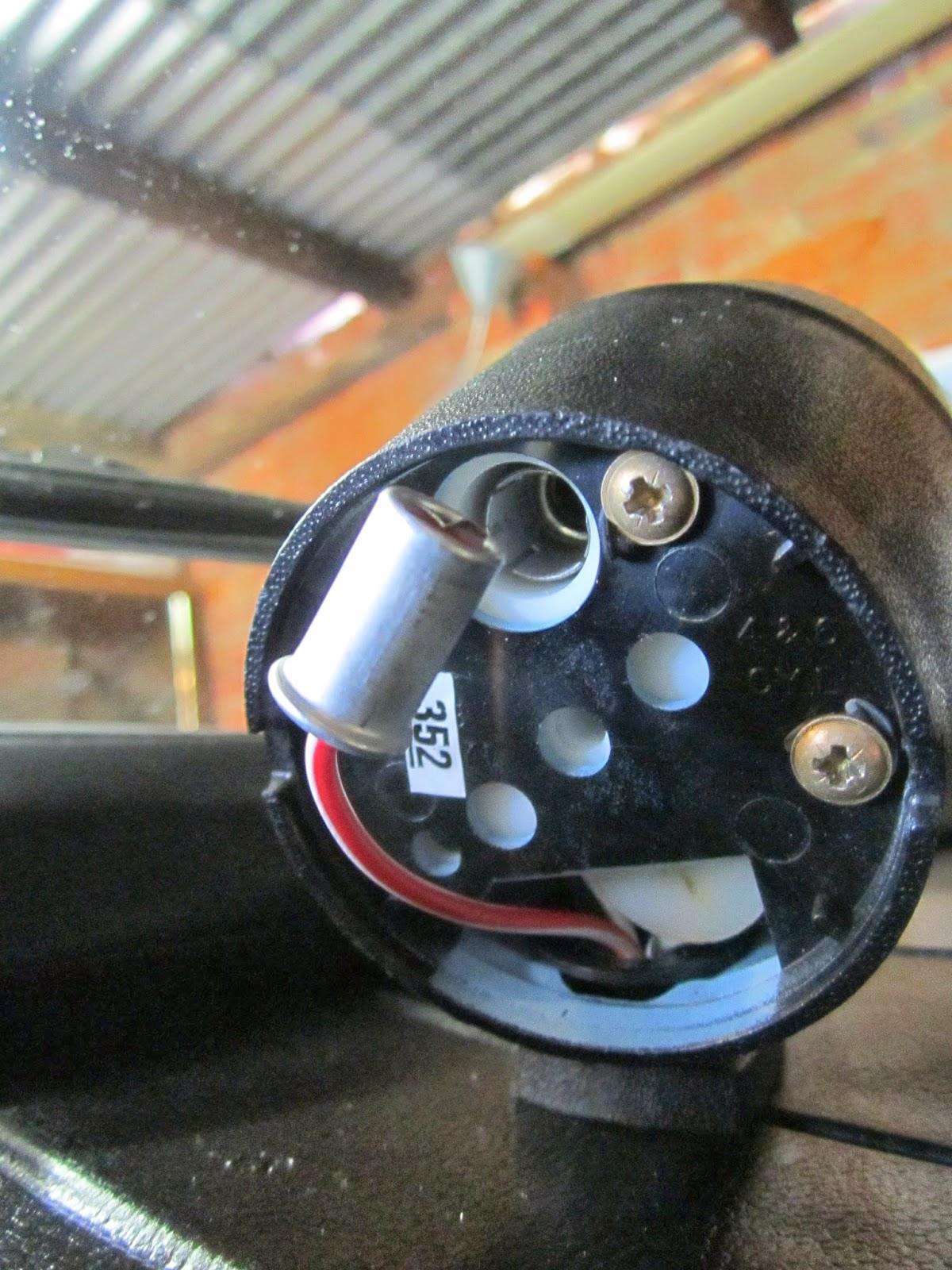 Removing Broken Light Bulb