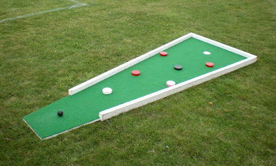 Pop-up minigolf at Kent Athletic Club in Luton. August 2020