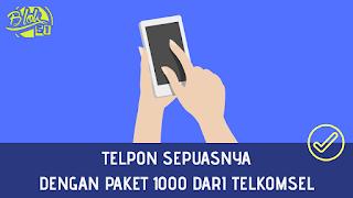 Paket nelpon sepuasnya pake Telkomsel