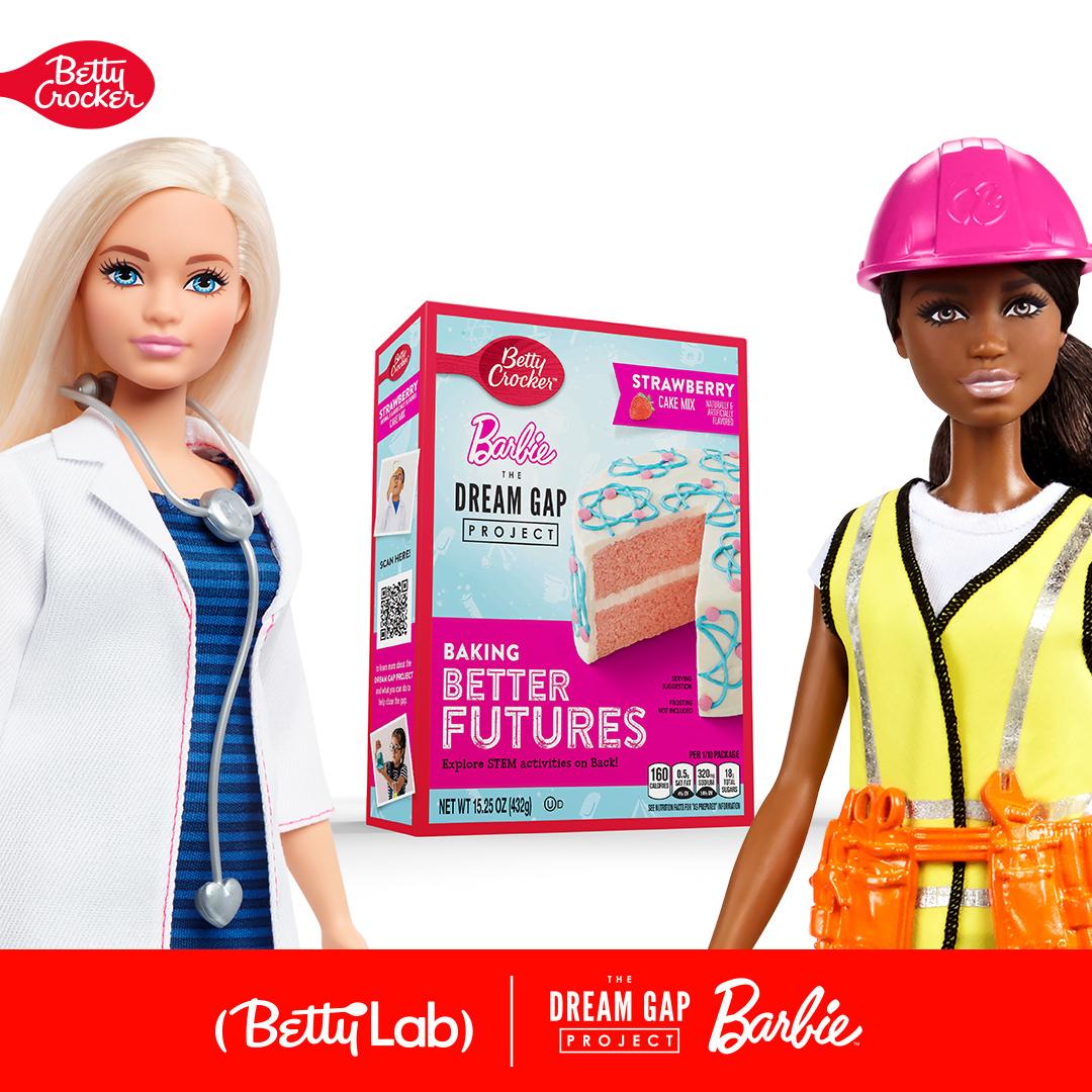 """""""بيتي كروكر"""" تتعاون مع """"باربي"""" لدعم أحلام الفتيات"""