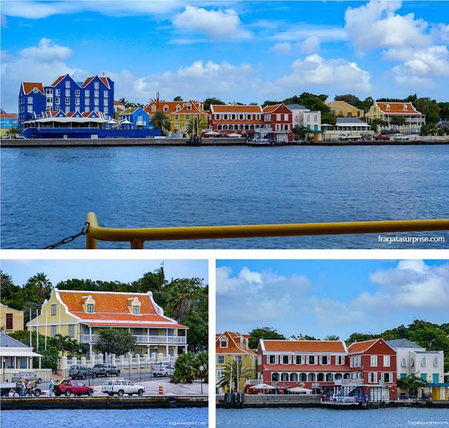 Otrobanda, o lado Oeste de Willemstad