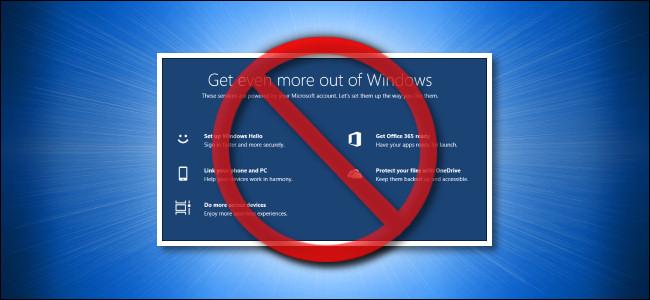 """لقطة شاشة مشطوبة من شاشة """"احصل على المزيد من Windows""""."""
