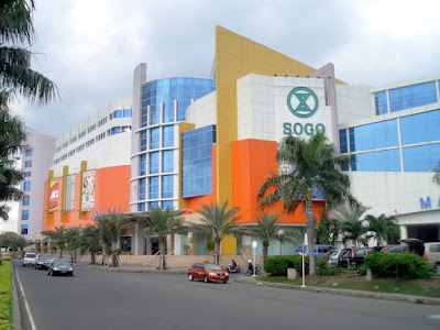 Mall terbesar di Surabaya Galaxy Mall