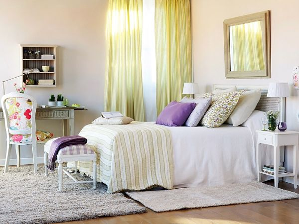 Bedrooms Decoration With Lots of Colors Combination - Best Colors Combination 6