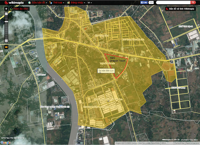 Đất nền Long An - Khu dân cư Dragon Town đã có sổ đỏ từng nền