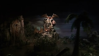 Flying Dinosaurs Disneyland Railroad Diorama