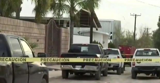 Grupo Armado llega a fiesta en una Quinta de Ciénega de Flores, Nuevo León, roba a los asistentes y al irse los rafaguea, hay 7 heridos