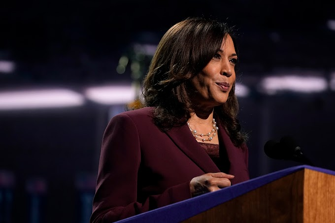 Kamala Harris will be the country's first female and first Black vice president