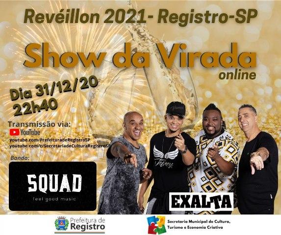Registro-SP terá Show da Virada online