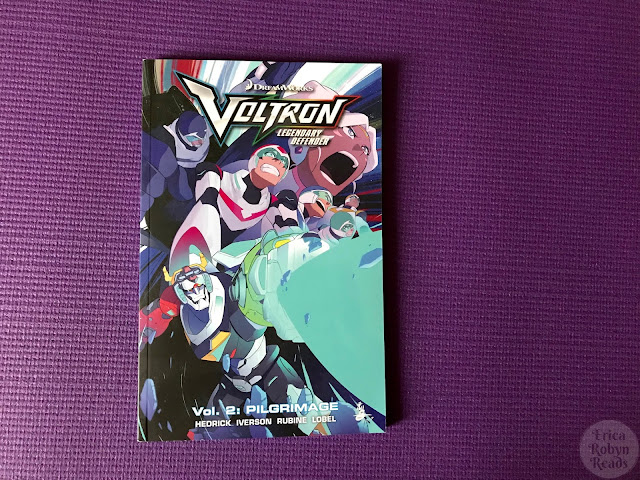 Book review of Voltron Legendary Defender Vol. 2: Pilgrimage