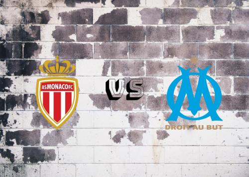 AS Monaco vs Olympique Marseille  Resumen y goles