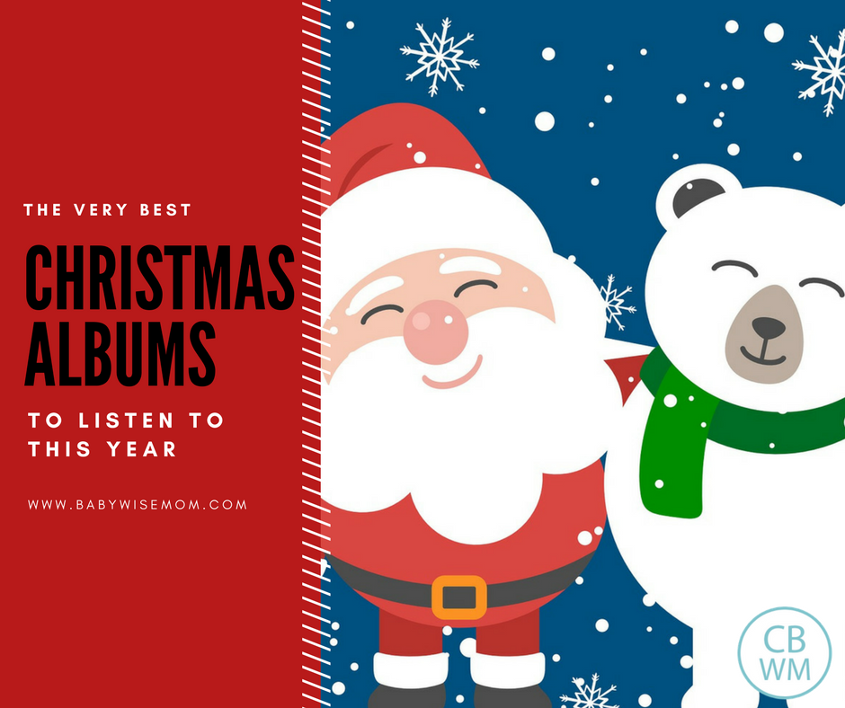 Top Christmas albums to listen to. A great variety of family friendly Christmas items to listen to this holiday season.