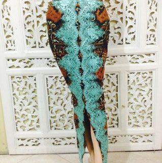 rok span batik rangrang
