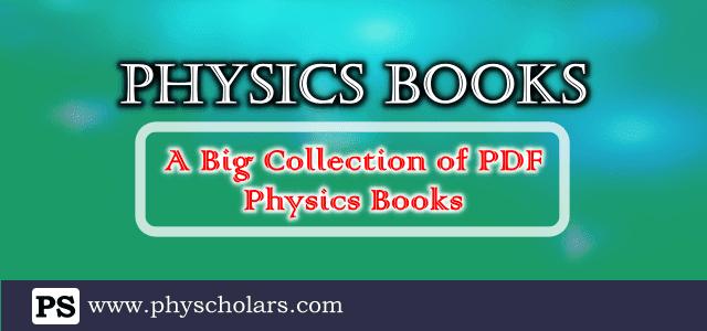 Physics Books PDF Free Download
