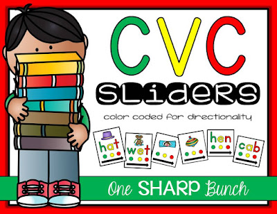 Phoneme segmentation & blending made easy with these tips and tricks for small group instruction!  These are the perfect phonemic awareness activities for your guided reading lessons or literacy centers!  Check out this color coded trick for teaching directionality and segmenting with CVC words!