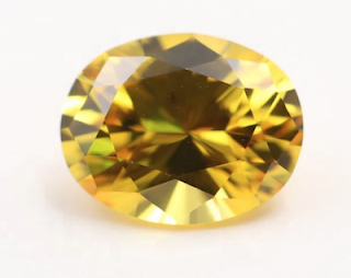 Corundum-Yellow-Sapphire-Oval-Shape-faceted stone-wholesale