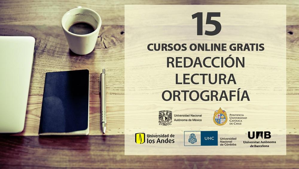 15 cursos online gratis de redacci n lectura y ortograf a for Curso de interiorismo online gratis