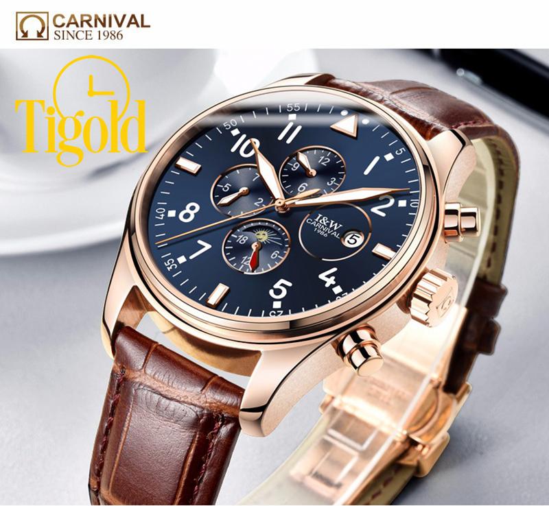 lưu ý khi mua đồng hồ carnival chính hãng