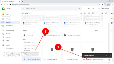 google drive, upload ke google drive, google, menyimpan file google drive,