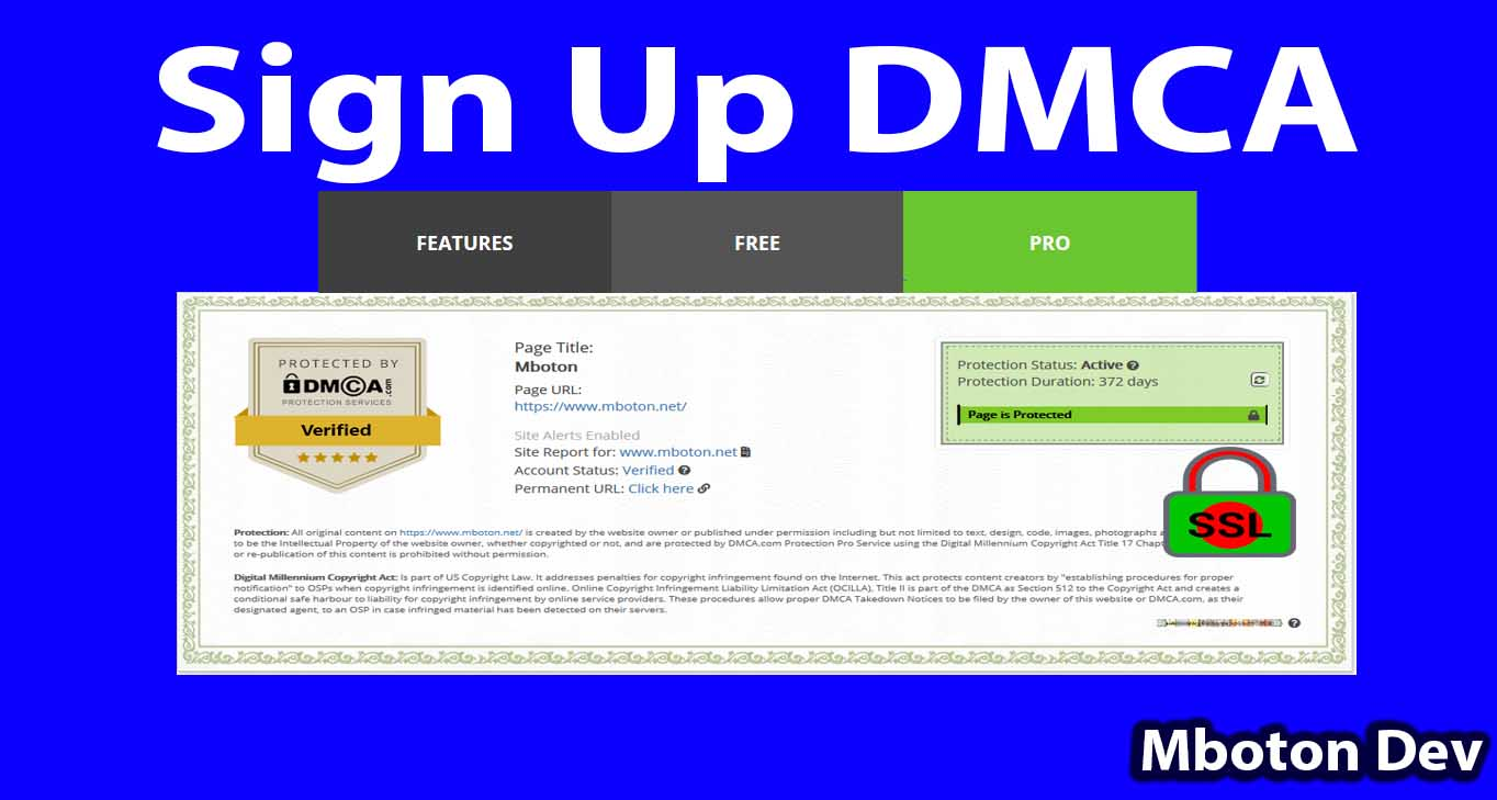 Sign Up DMCA