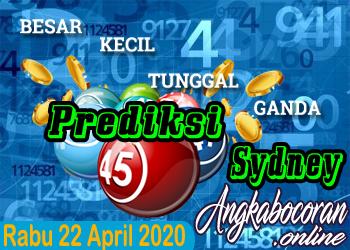 Bocoran Togel Sydney 22 April 2020 Rabu