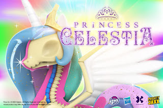 Mighty Jaxx Princess Celestia XXRay Plus Figure Coming Tomorrow