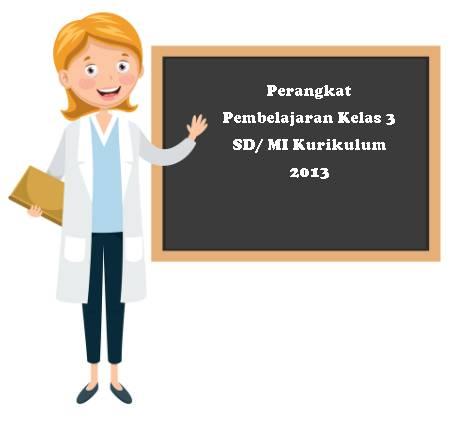 Perangkat Pembelajaran Kelas 3 SD/ MI Kurikulum 2013