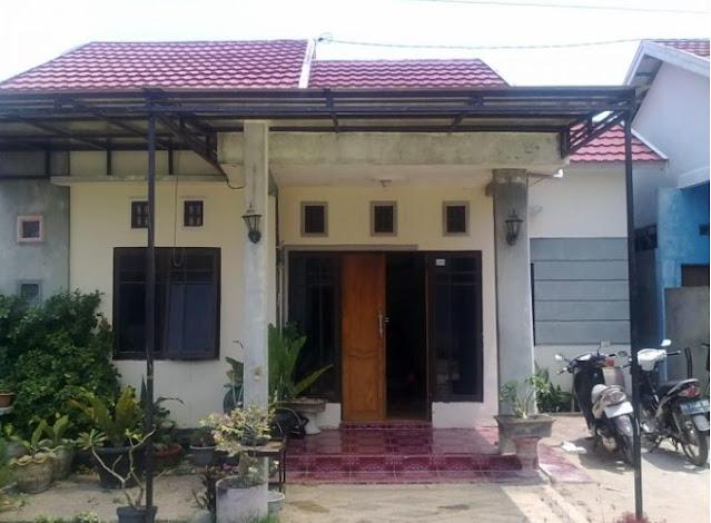 single floor house design in village