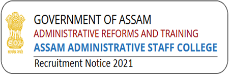 Assam Administrative Staff College Estate Manager Recruitment 2021