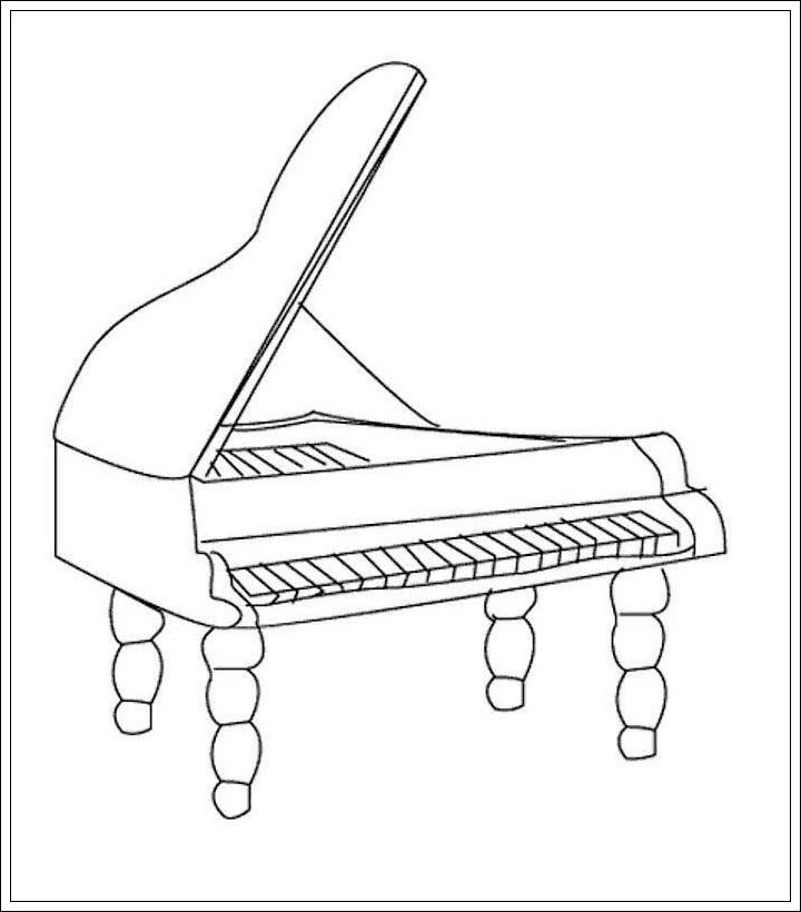Malvorlagen Instrumente My Blog