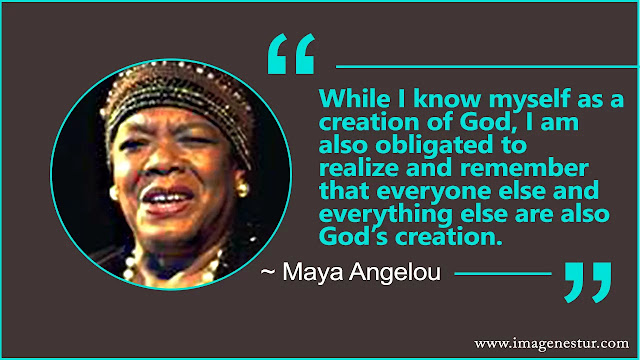 Maya Angelou Quotes about god