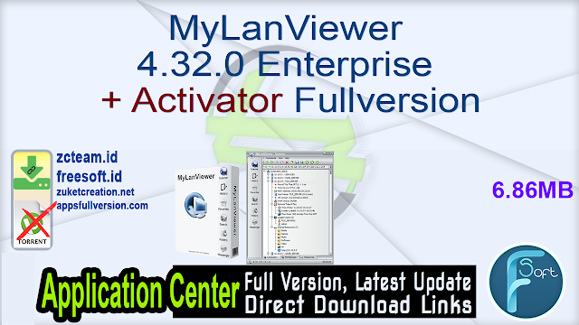 MyLanViewer 4.32.0 Enterprise + Activator Fullversion