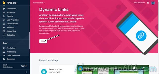 Membuat Shortlink Menggunakan Firebase Dynamic Links (FDL)