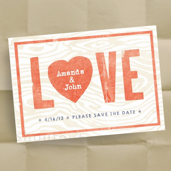 wedding postcard save-the-dates