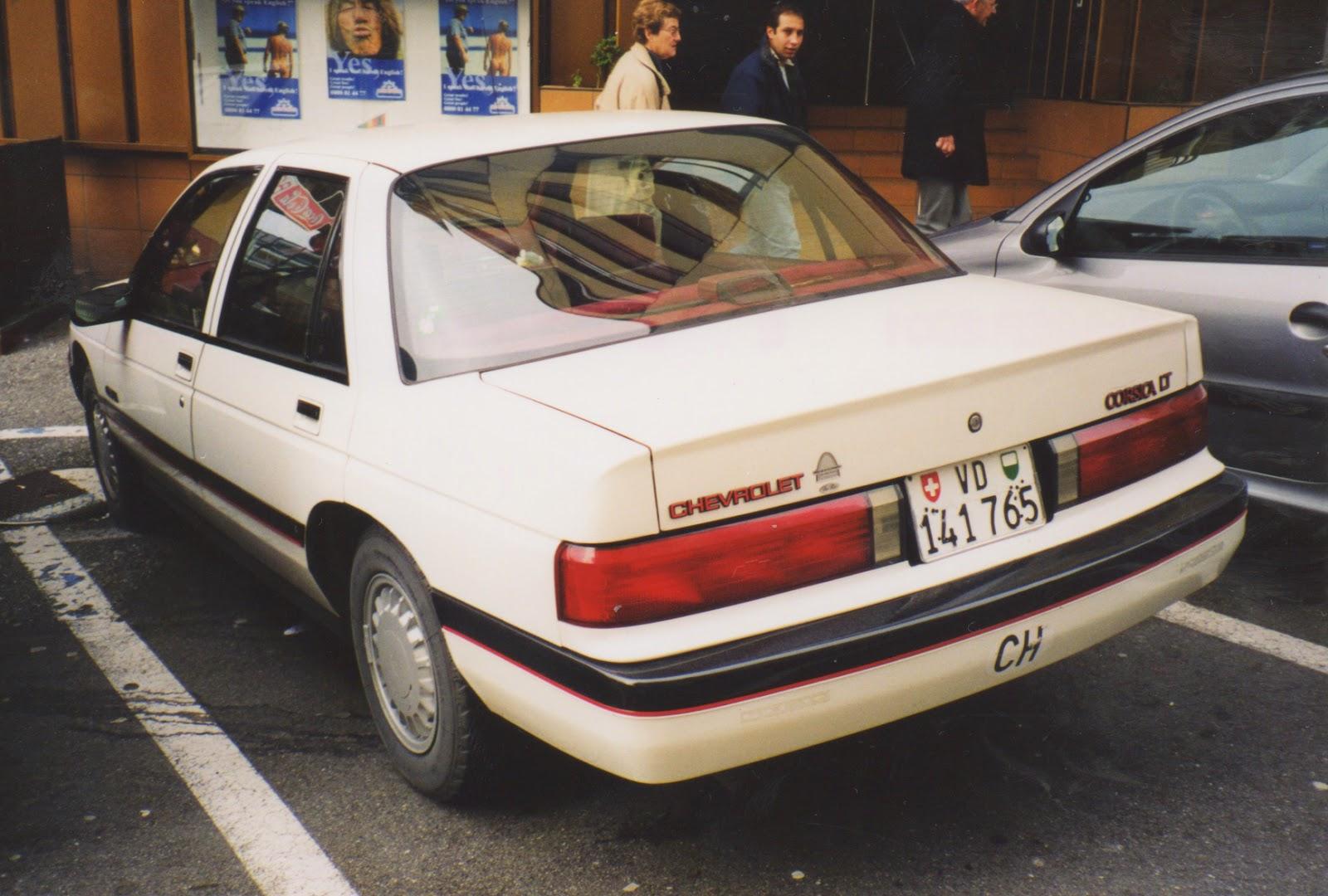 All Chevy 94 chevy corsica : 1987-1989 Chevrolet Corsica LT,Vevey, Switzerland | SPOT A CAR
