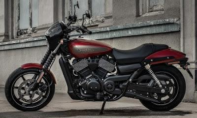 2017 Harley-Davidson Street 750 red color
